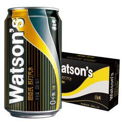 Watsons 屈臣氏 苏打汽水 经典黑罐330ml*24罐