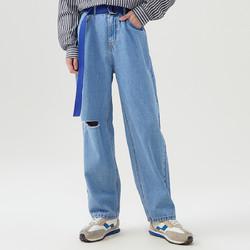 Meters bonwe 美特斯邦威 男士牛仔裤