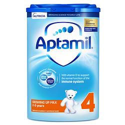 Aptamil 爱他美 HMO儿童配方奶粉 4段 800g 易乐罐