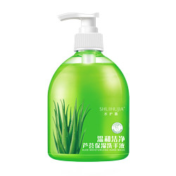 PLUS会员:SHUIHUJIA 水护嘉 芦荟温和洗手液 500ml