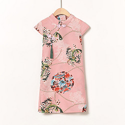 ENEESSI 女童中国风汉服连衣裙