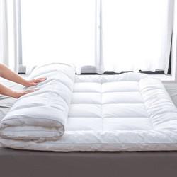 沿蔻家纺 全棉抗菌防螨床垫保护垫 180*200*5cm