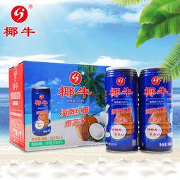 大额神券:椰牛 海南新鲜生榨 果肉椰子汁 960ml*6罐