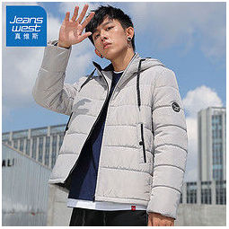 JEANSWEST 真维斯 JY-94-122018 加厚男士棉服外套