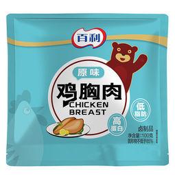 百利 低脂即食鸡胸肉 100g*6袋